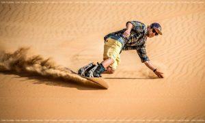 sand-board